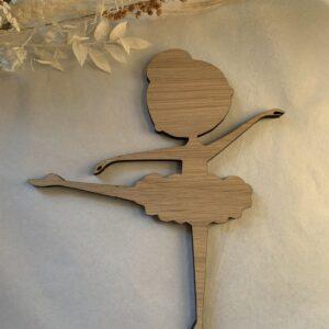 velkomstskilt træ ballet