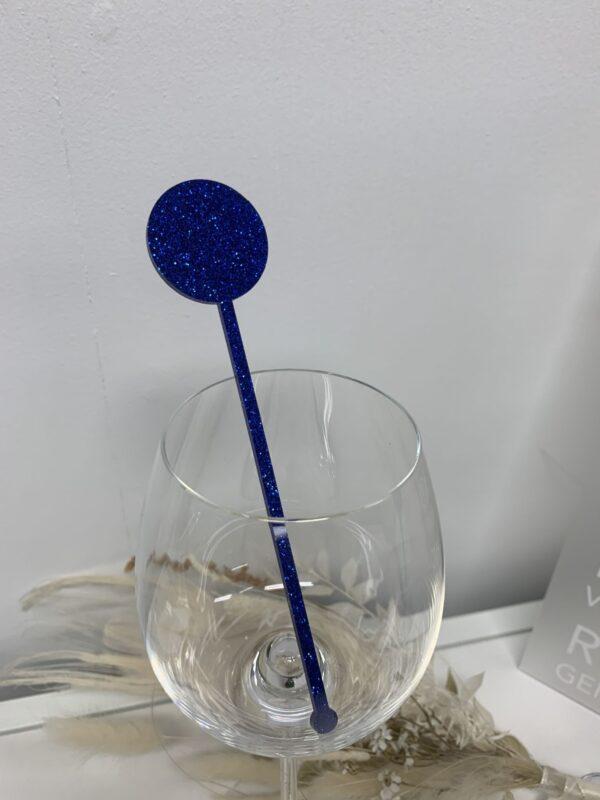 drinkspinde glimmer mørkeblå